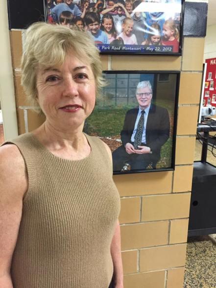 Maggie Barker with Sir Ken Robinson